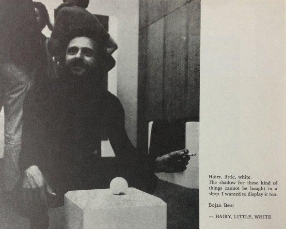 00_Dragnularijum_Bojan Bem, Hairy, Little, White, SKC, Belgrade, 1972