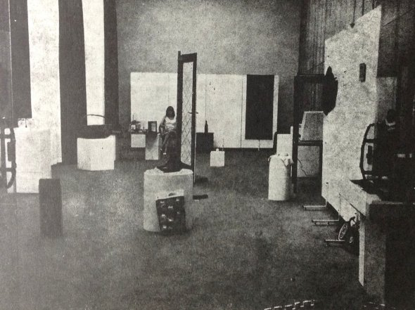 00_Drangularijum (installation view), SKC, Belgrade, 1972