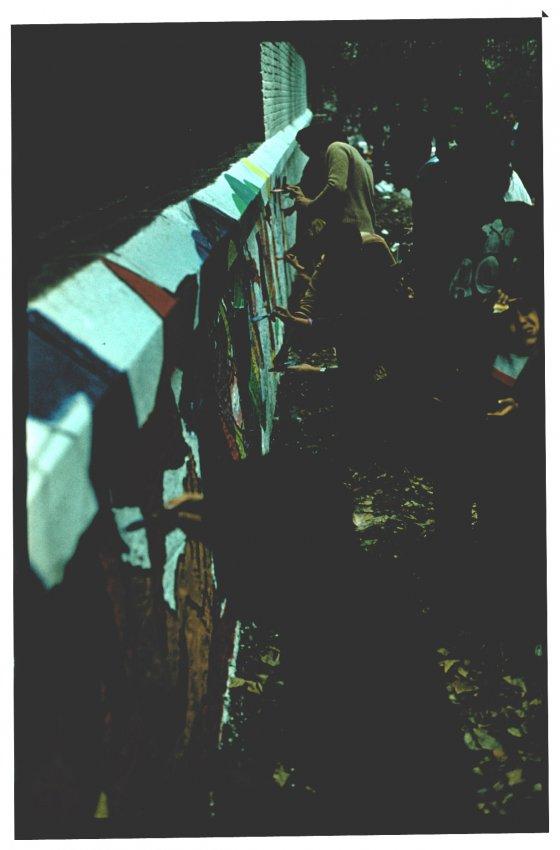 Murals by Salvador Allende (Ramona Parra) Brigades
