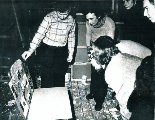 Kabakov's studio