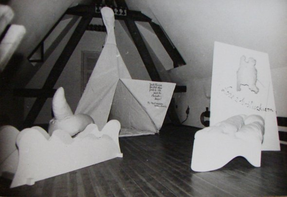Maria Pinińska-Bereś, sculptures from the cycles Psycho Furnitures